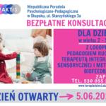 Bezpłatne konsultacje dla dzieci w wieku 2-5 lat | 5 czerwca 2021